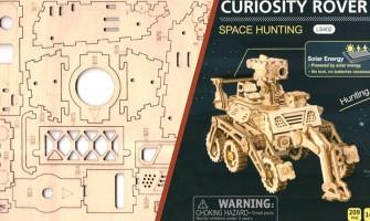 Curiosity Rover - 3D Holzbausatz im Test