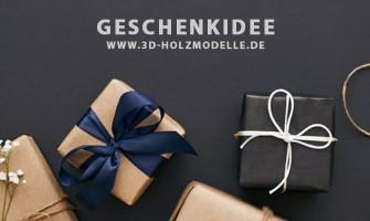 3D-Holzmodelle als Geschenkidee für die Einschulung